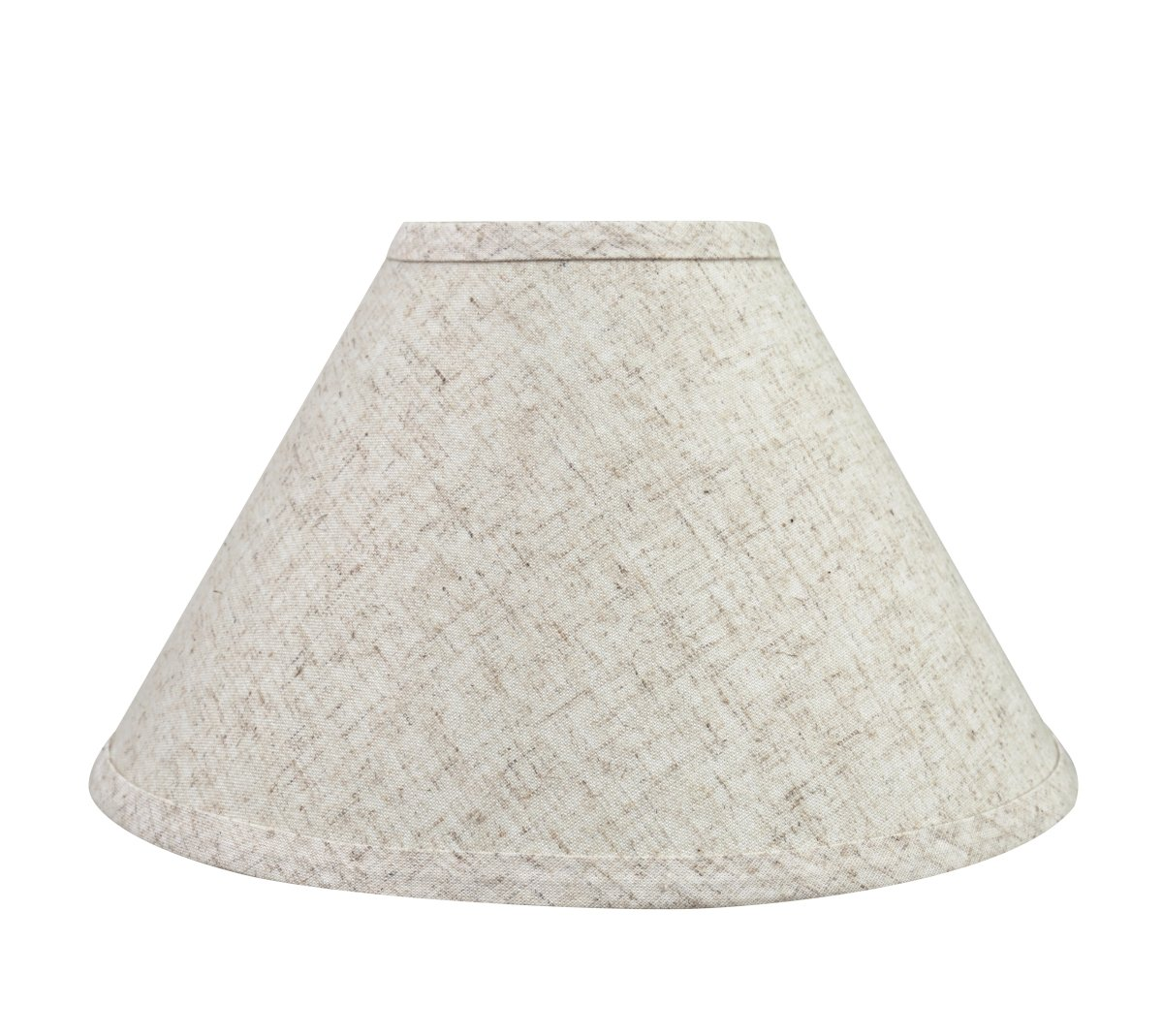 Aspen Creative 58703 Transitional Hardback Empire Shape UNO Construction Lamp Shade in Beige, 11'' Wide (4'' x 11'' x 7'')