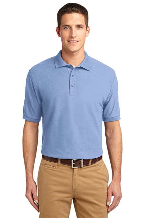 Port Authority Herren Groß und hoch Silk Touch Polo Shirt: Amazon.de:  Bekleidung