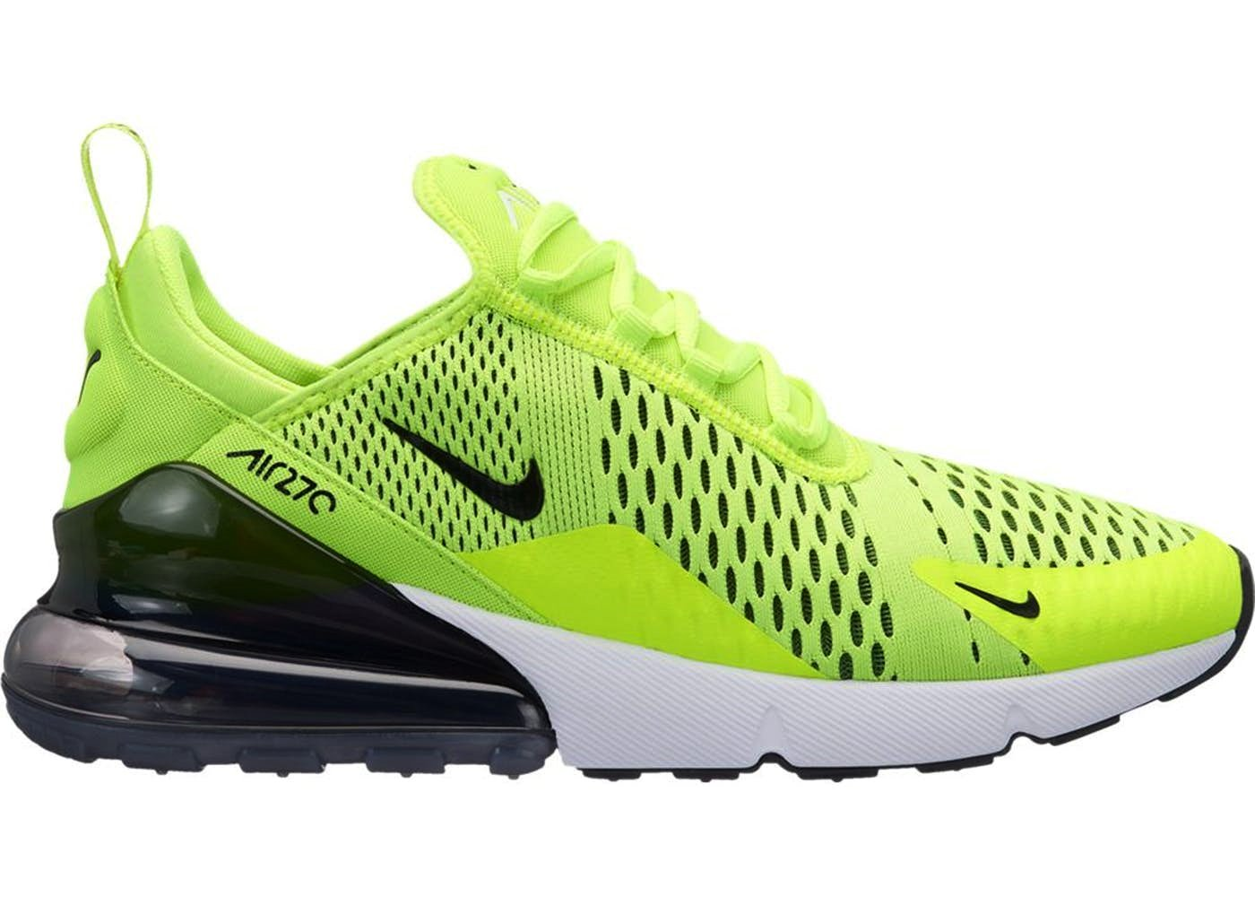 3cec29474a363c Galleon - NIKE Air Max 270 Men s Shoes Volt Black Dark Grey White  Ah8050-701 (8 D(M) US)