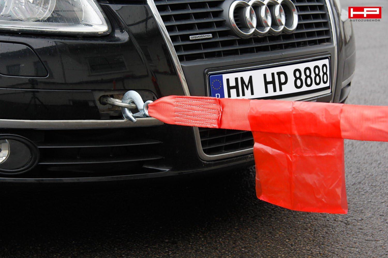 Hp Autozubehör 10296 Abschleppseil Elastisch 4000kg Haken Haken Auto