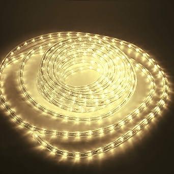 LED Lichtschlauch Lichterkette IP44 Leiste Schlauch Innen Aussen 10m//20m//30m//50m