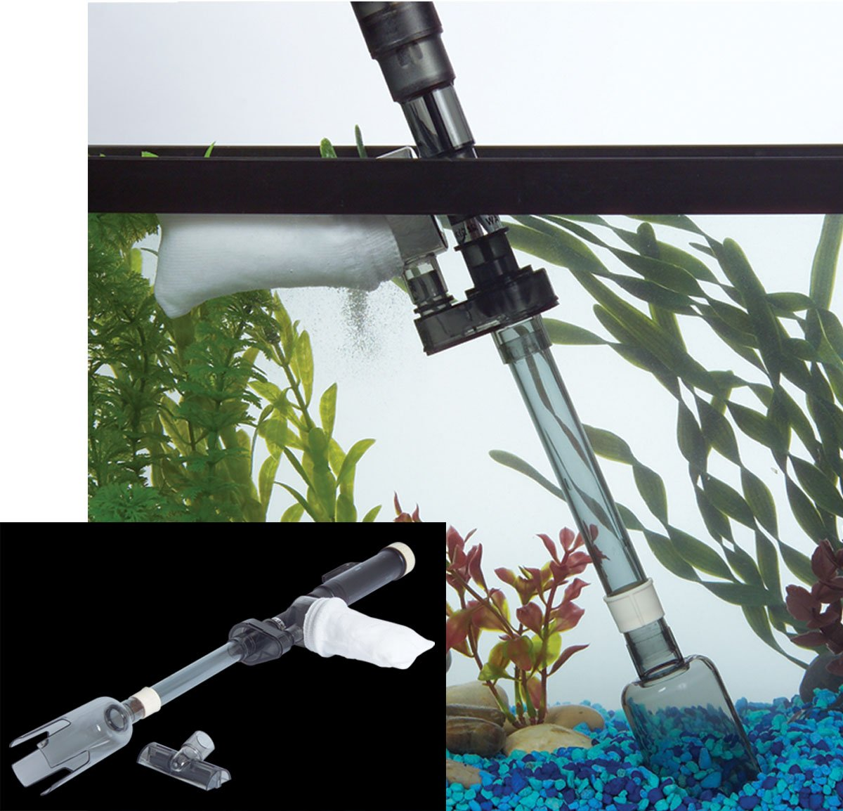 Koller Products TM1096 Tom Aquarium Mr. Cleaner Battery Operated Gravel Siphon by Koller Products (Image #3)