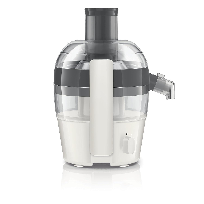 Philips HR1832/30 - Exprimidor eléctrico, 1,5 l, 500 W, color gris y blanco: Amazon.es: Hogar