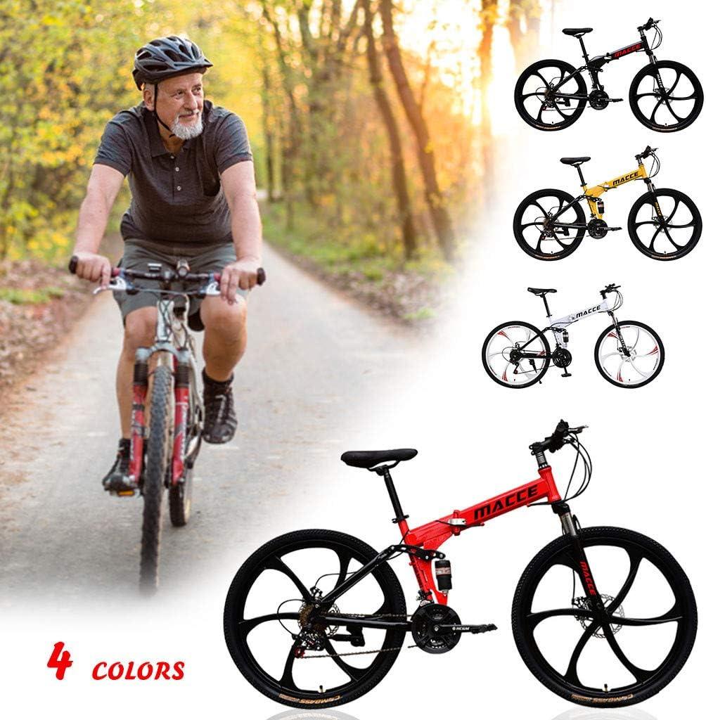 Blanco Novokart-Plegable Deportes//Bicicleta de monta/ña 24//26 Pulgadas 10 Cortador