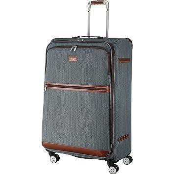 0a8498bbf Amazon.com   Ted Baker Falconwood Large 4 Wheel Trolley - Grey   Suitcases