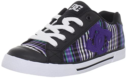 DC Chelsea 2 - Zapatillas de skateboarding de nailon para mujer Negro Black/Varsity Purple: Amazon.es: Zapatos y complementos