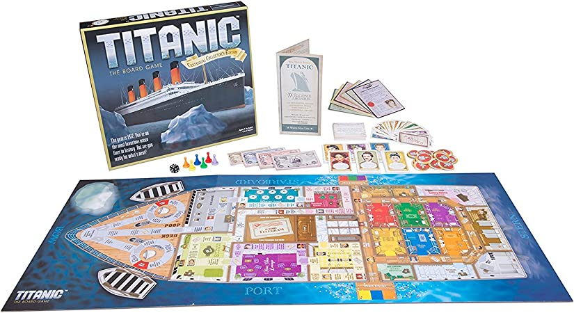 Titanic, The Board Game by Universal Games: Amazon.es: Juguetes y juegos