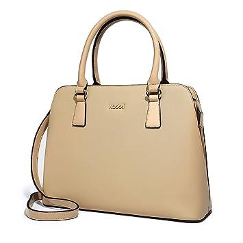a57fb1c608b53 Kadell Frauen PU Leder Designer Handtaschen Geldbörse Damen Top Griff Tote  Satchel Gelb