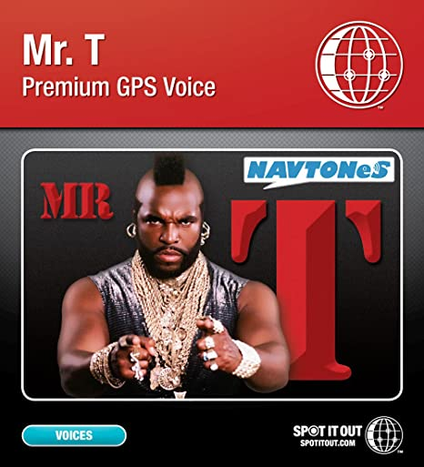 Mr  T GPS Voice for Garmin (PC only) [Download]