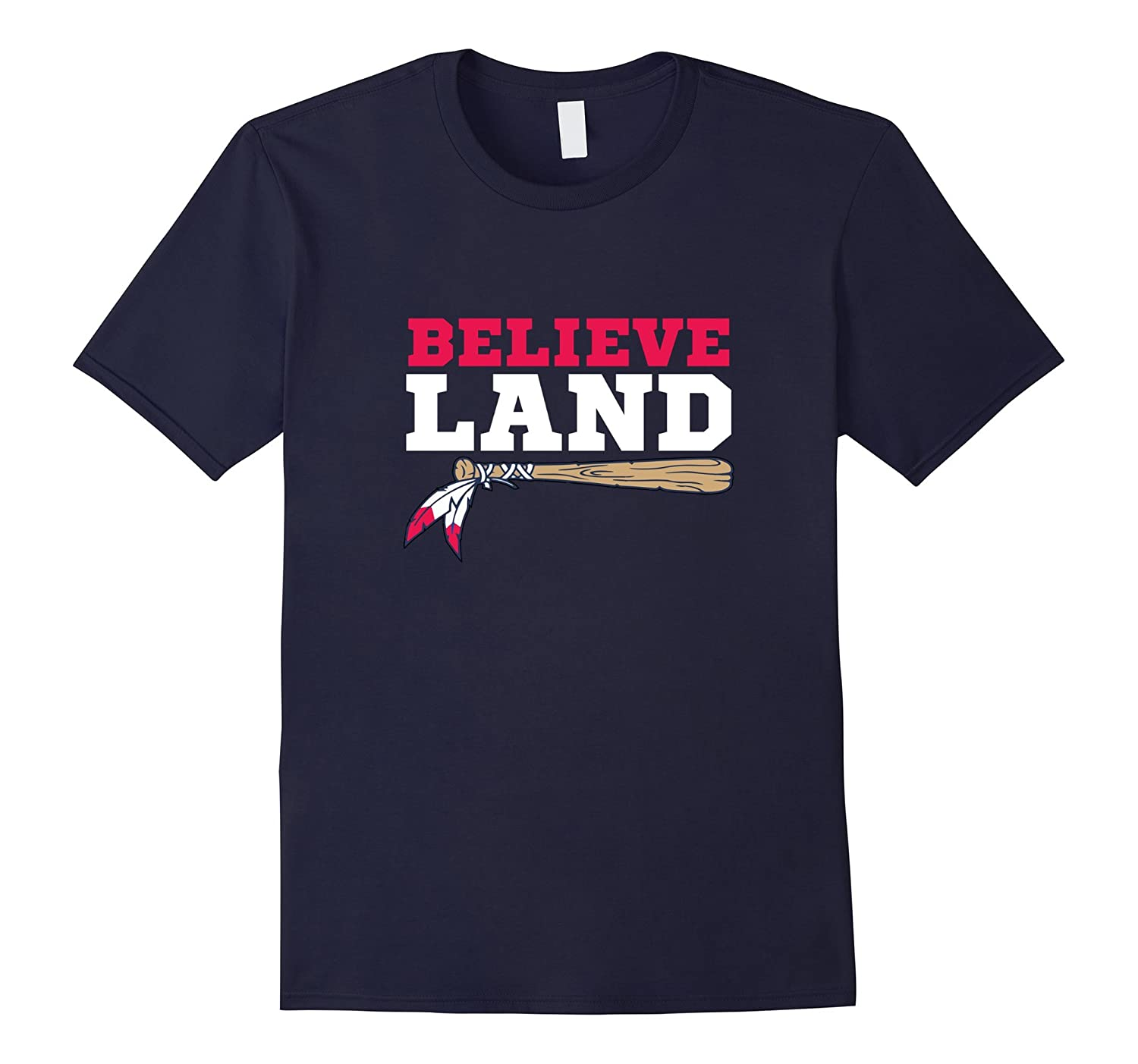 Believe Land Cleveland Baseball T-Shirt-BN