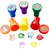 Stamps for Kids, LUCKYBIRD S0315 Best Sell Self Inking Plastic Insect Theme Fun Stamps Set, 6 Count