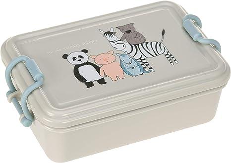 Fiambrera About Friends L/ässig Fiambrera para ni/ños para la guarder/ía apta para lavavajillas fiambrera para el almuerzo gris