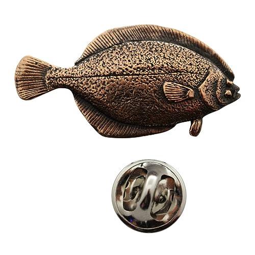 Pin de flotador de cobre envejecido ~ Pin de solapa~Trampa de Sarah y tesoros: Amazon.es: Joyería