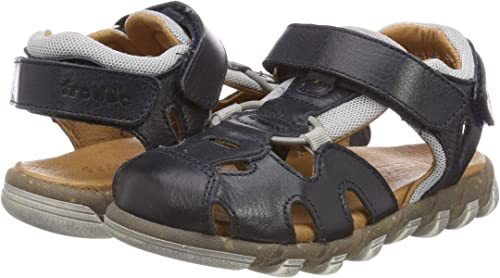 Froddo G3150145 Boys Sandal Closed Toe Dark Blue I17 8.5 UK