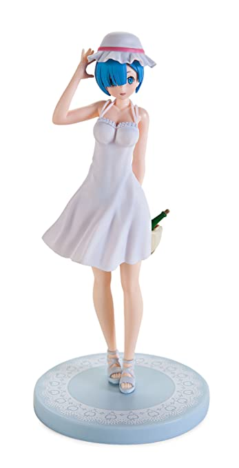 Sega Re Zero Starting Life In Another World: Rem Figure - Lugunica De Machiawase Version
