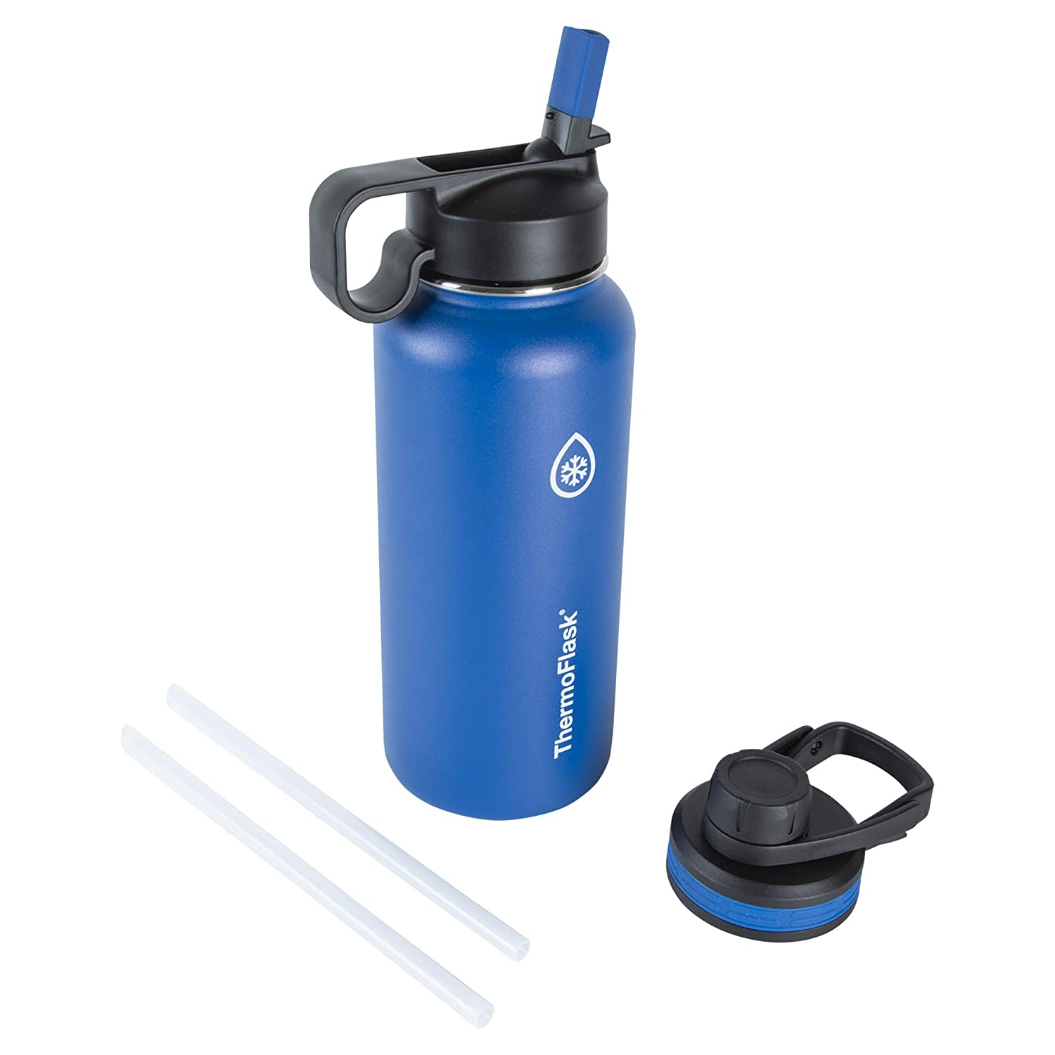 Thermoflask 50072 Double Stainless Steel Insulated Water Bottle, 32 oz, Cobalt