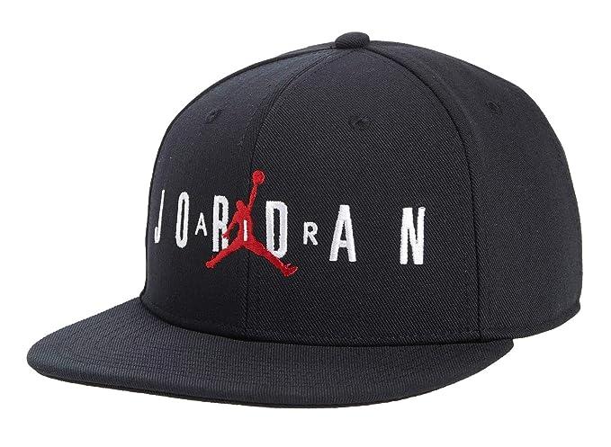 f4ffde6a9813d3 Nike Boy`s Jordan Jumpman Air Cap (Black(9A0128-023) White