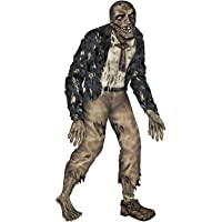 Halloween Spooky Creepy Jointed 6-ft Zombie Haunted Figurine
