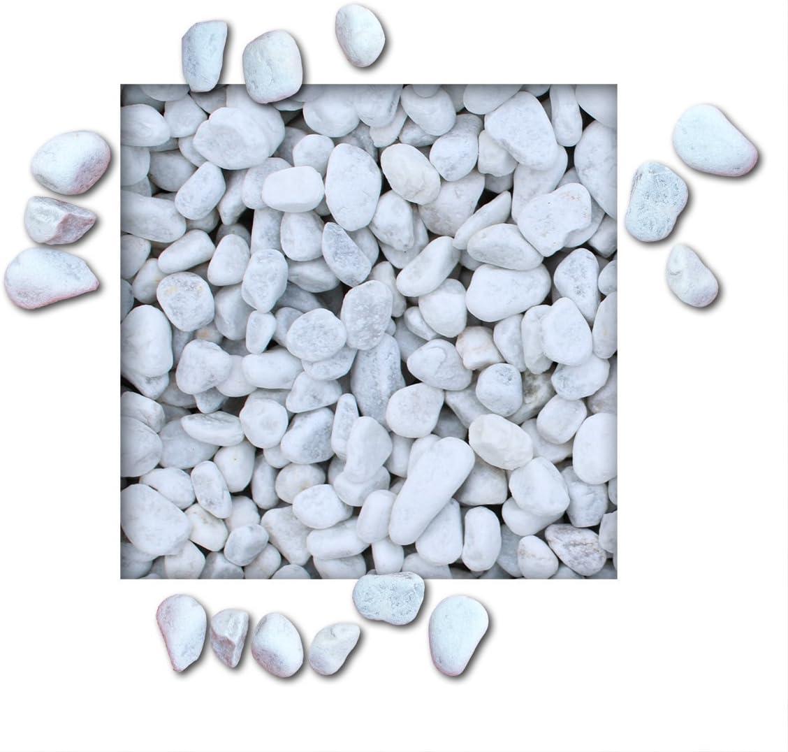 25 kg Marmorkies Carrara Weiss K/örnung 7//15 mm direkt vom KiesK/önig/®