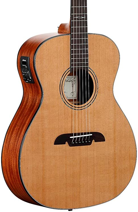 Alvarez af615e Folk Guitarra Electroacústica Natural: Amazon.es ...
