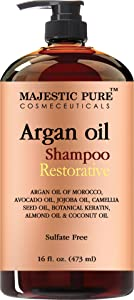 Argan Oil Shampoo from Majestic Pure