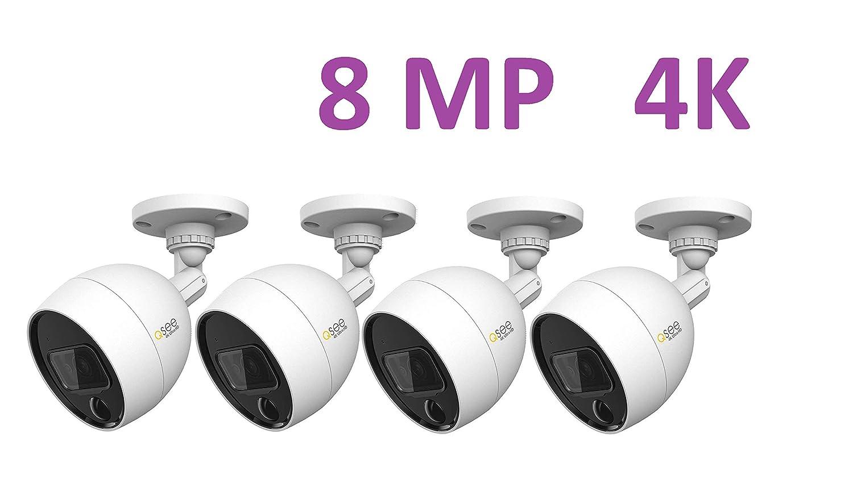 New Q-See QCA8095B 4K Ultra Analog HD Bullet Security Camera  PIR /& Night Vision