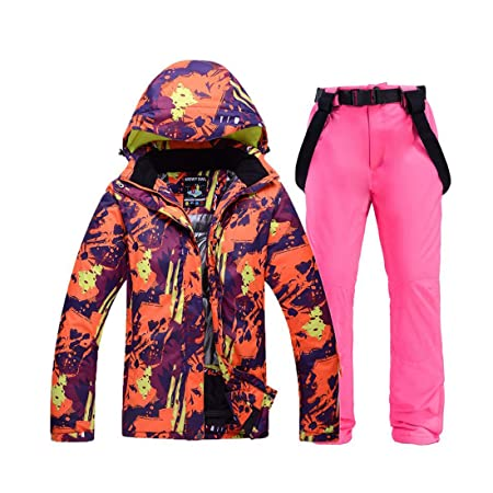 PEIN Hombre/Mujer/Trajes de esquí/Chaqueta y pantalón/Ropa de ...