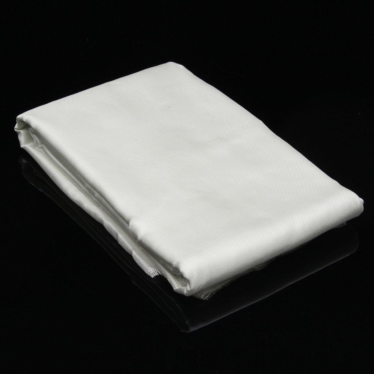 CocinaCo 1.27x5.5m Fiber Glass Woven Roving Fiber Plain Weave Cloth DIY Craft