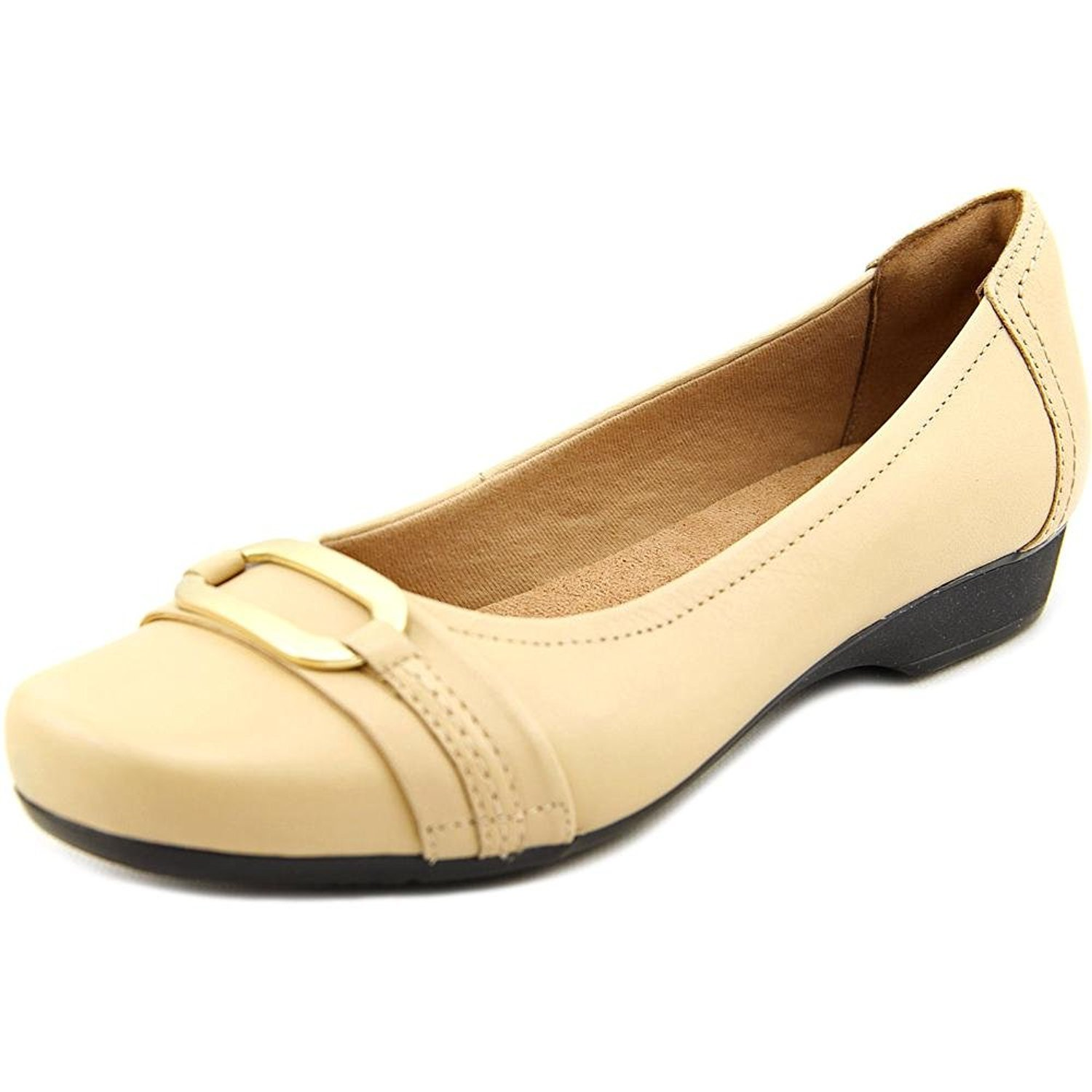 Clarks Blanche Rosa Women Leather Shoes US 9.5 Nude Flats: Amazon.ca: Shoes  & Handbags