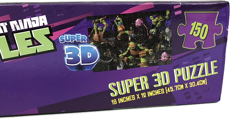 Nickelodeon Teenage Mutant Ninja Turtles Super 3d Puzzle 150 Pieces Cardinal Industries