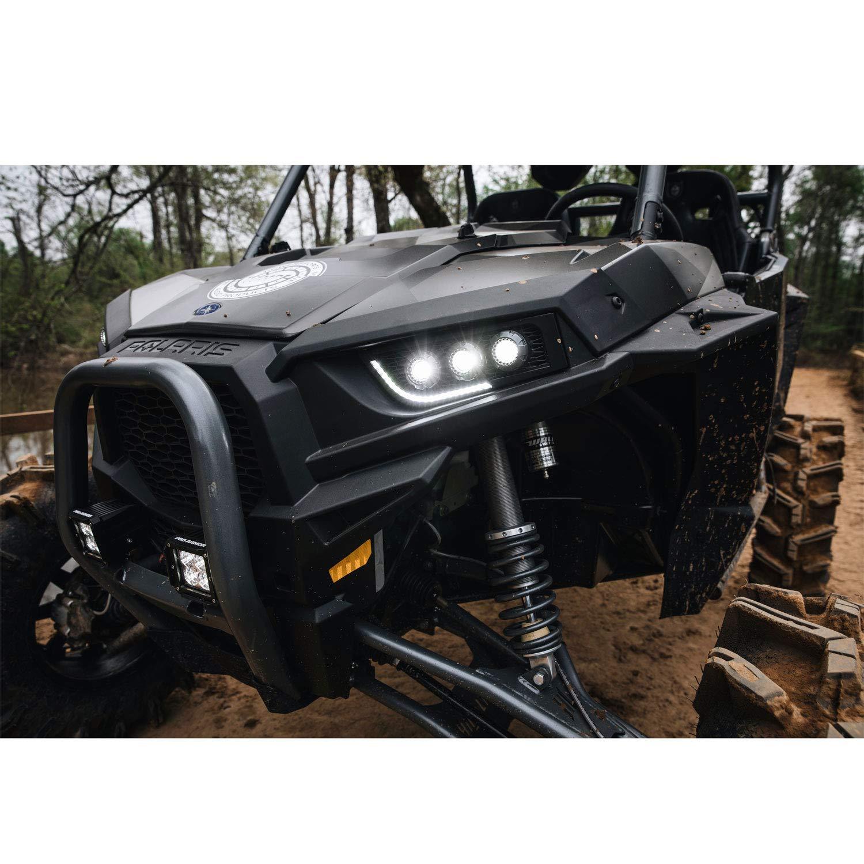 Amazon.com: GENUINE POLARIS RZR TRAILBLAZER LED HEADLIGHTS 2 SEAT MODELS 2882073: Automotive