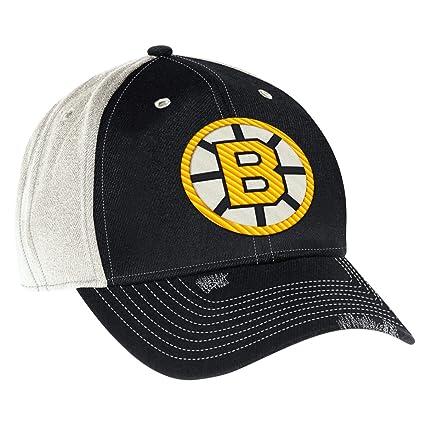 bc82173ff7e Amazon.com   Boston Bruins CCM Original Six NHL Slouch Flex Fitted ...
