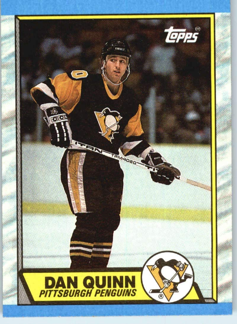 Amazon Com Hockey Nhl 1989 90 Topps 152 Dan Quinn 152 Nm Penguins Collectibles Fine Art