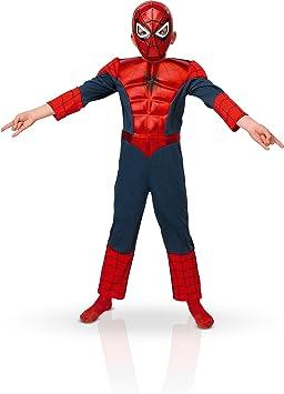 Rubbies - Disfraz de Spiderman para bebé niño, talla L (I-886923L ...
