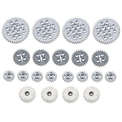 LEGO 21pc Technic 16 24 40 tooth gear CLUTCH set (Mindstorms nxt robot EV3 lot pack): Toys & Games