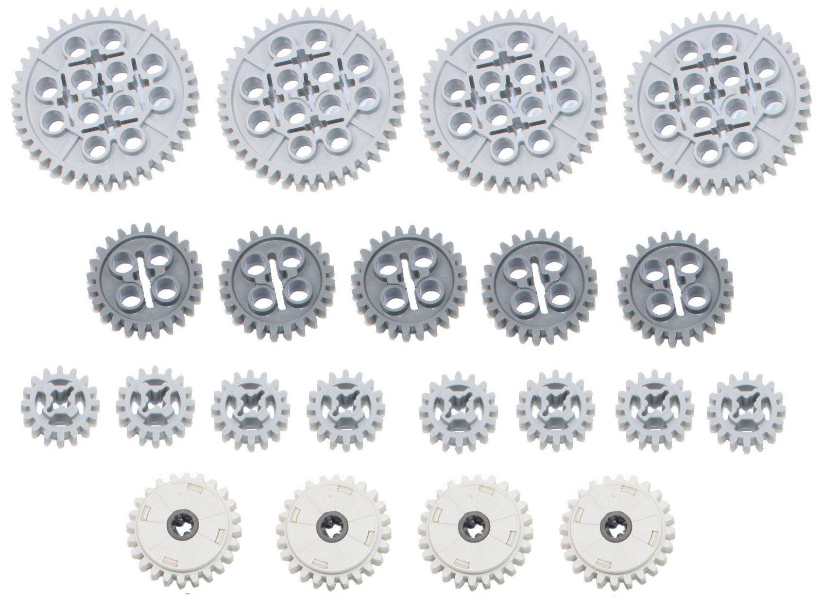 Mindstorms EV3 NXT LEGO Technic 4 piece lot extended length gear racks
