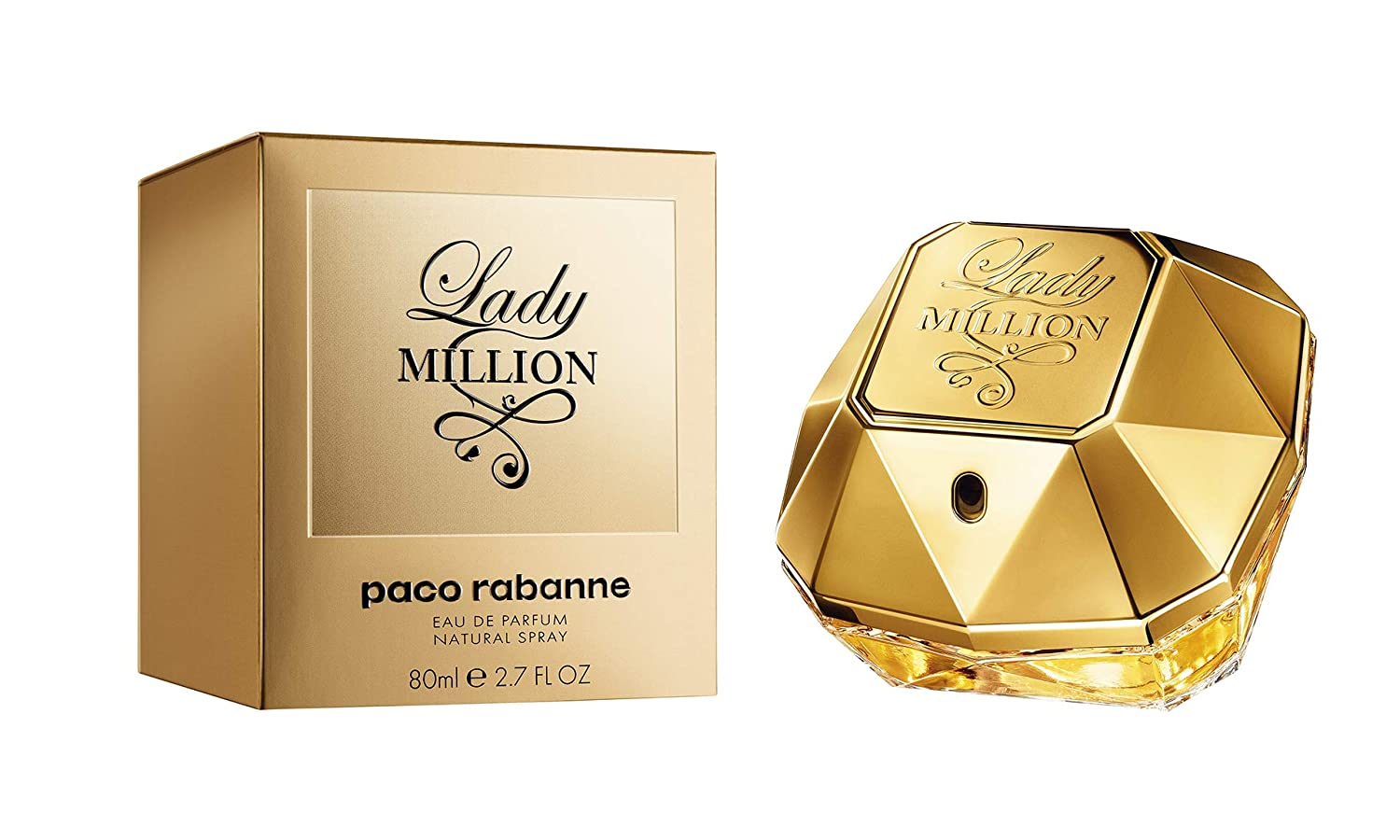 7301e02a5c407 Amazon.com   Lady Million by Paco Rabanne Eau De Parfum Spray for Women