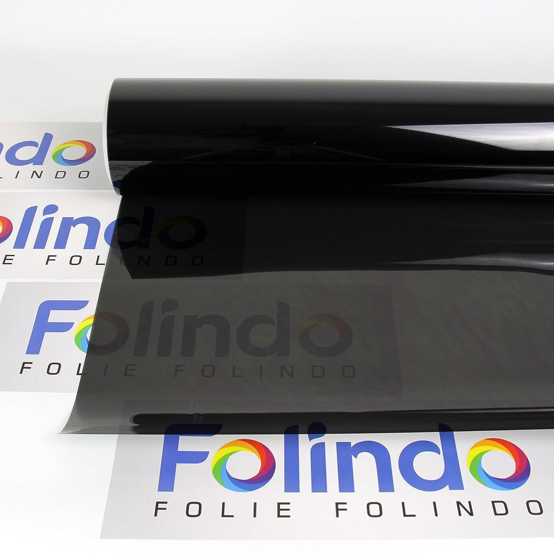 Solar Screen Profi Auto T/önungsfolie Light Schwarz 65/% Scheibenfolie 51cm Breite Black Plus 65c Scheibent/önungs-Folie Ink ABG