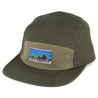 Patagonia Hats Retro Fitz Roy Label Tradesmith 5 Panel Baseball Cap - Olive  Adjustable 7c934e49387
