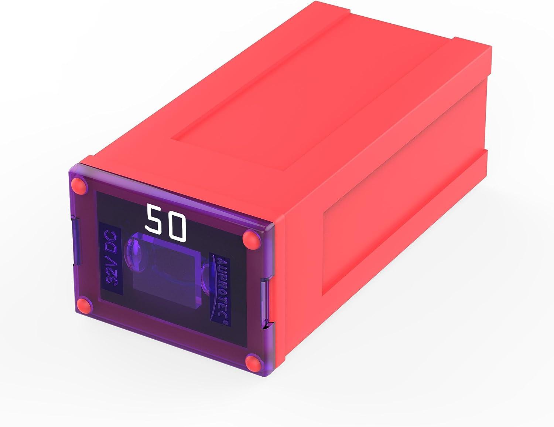 AUPROTEC JCASE Cartridge Fuses Slow Blow Female OTO J pacific fuse 40 amp green,1 pc