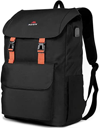 Business 14 Inch Laptop Backpack Unisex Waterproof Daypack for Work Travel Hiking Camping School
