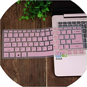 Compatible for Acer Swift SF113 S5 371 SF514 SF5 Swift 5 Swift 3 Aspire S13 14 SF314 Spin 5 13.3'' Laptop Keyboard Cover Skin Protector,Pink