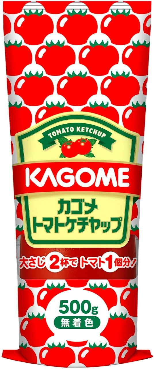 カゴメ トマトケチャップ チュ-ブ 500g