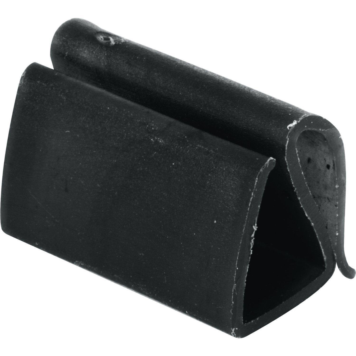 Prime-Line Products PL 15544 Plastic Retainer Clip, 7/16'', Black,(Pack of 25)