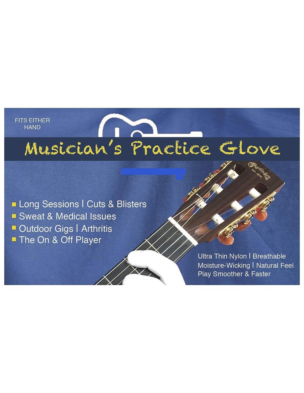 Guante para guitarra, guante para bajo, guante para ensayos: Amazon.es: Instrumentos musicales