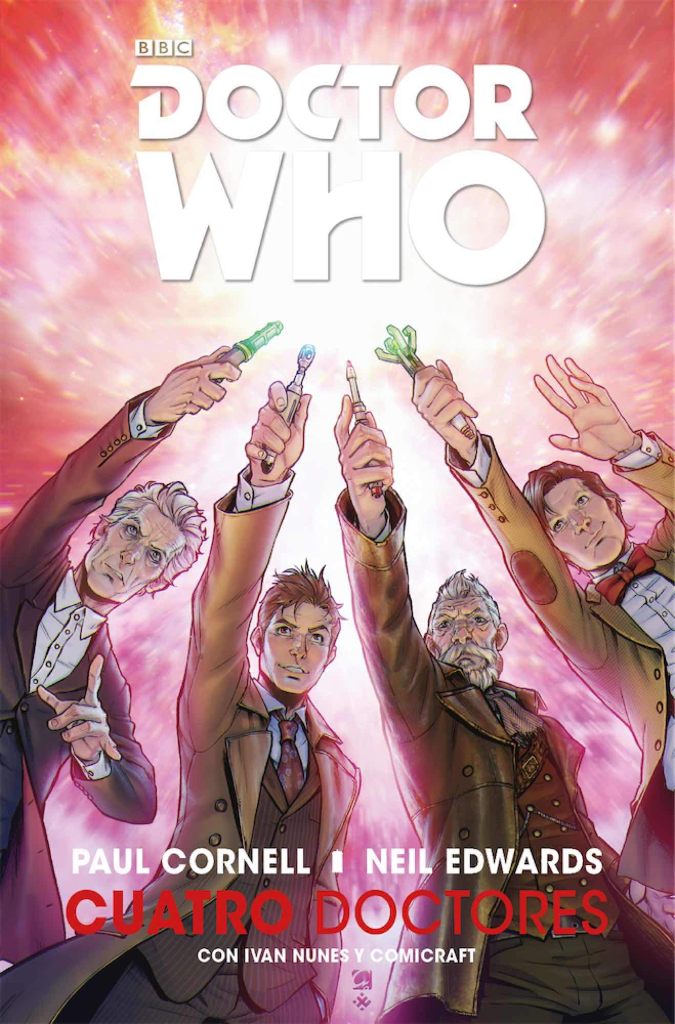 DOCTOR WHO: CUATRO DOCTORES: Amazon.es: Cornell, Paul, Edwards ...