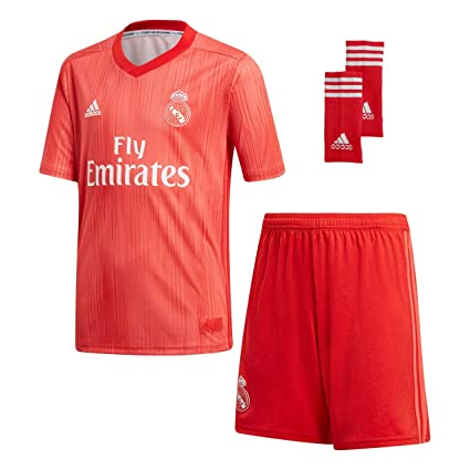f563c90c17e Amazon.com   adidas 2018-2019 Real Madrid Third Full Kit (Kids)   Sports    Outdoors