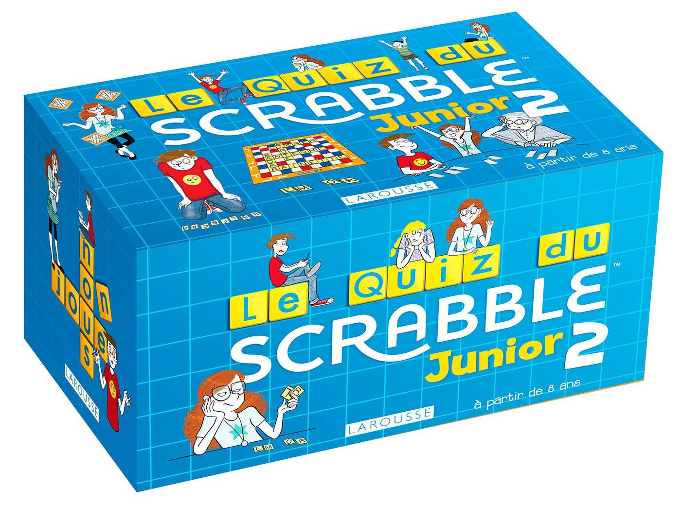 Quiz Scrabble Junior 2 (Boîtes Quiz): Amazon.es: Meyer, Aurore, MaY: Libros en idiomas extranjeros