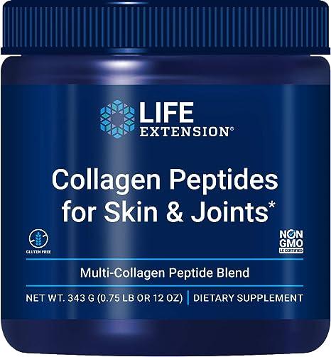 Life Extension Collagen Peptides for Skin & Joints, 343 Gram