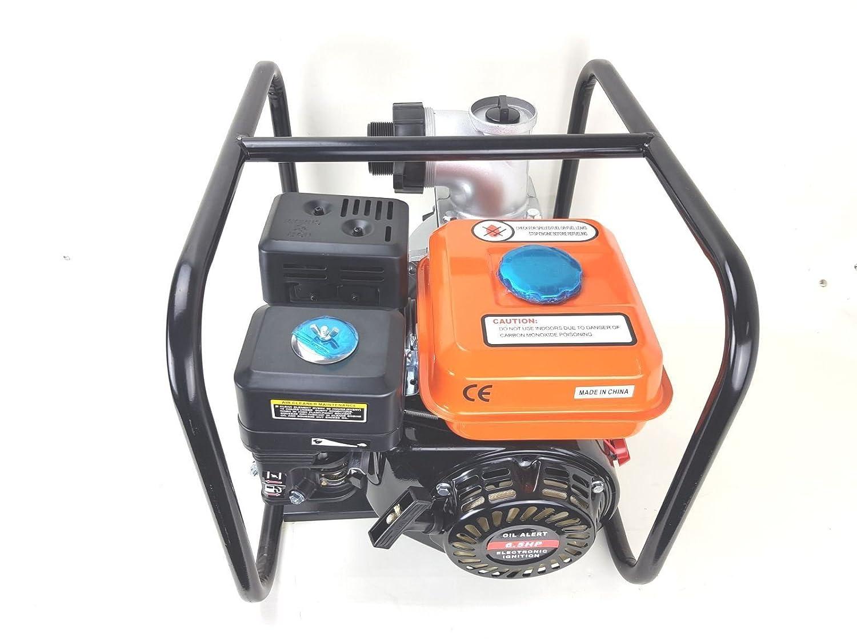 Floods etc PROGEN Tools 3 inch 4 Stroke Engine Petrol Industrial Water Pump 6.5 HP 3 inch for Pools